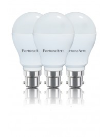FortuneArrt 7 WATT LED Bulbs (pack of 3)