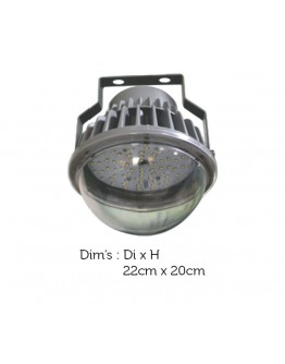 FortuneArrt 60Watt LED Well glass Lights