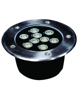 FortuneArrt 9 WATT LED Under Ground Light